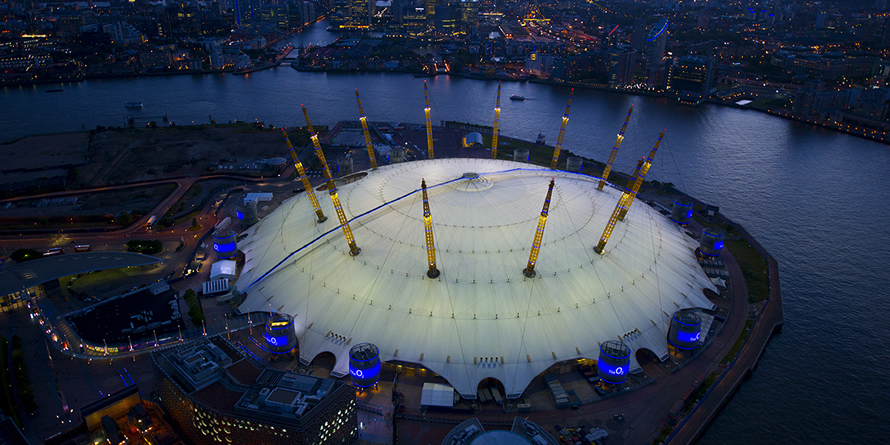 Switch to 100% renewable energy puts The O2 centre stage on sustainability
