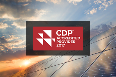 SmartestEnergy accredited by CDP as UK Renewable Energy Provider