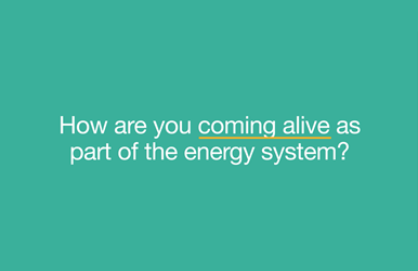 Are you part of the living grid?
